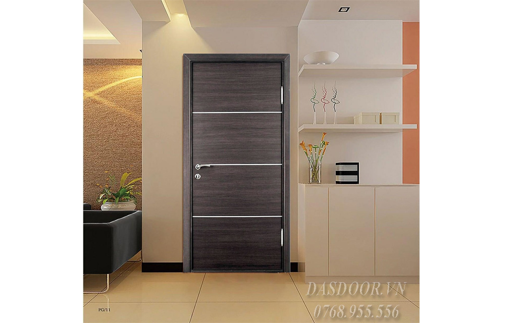 Cửa Composite 1 Cánh Đơn-PVC 07