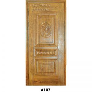 Cửa Thép Vân Gỗ Cánh Đơn - A107