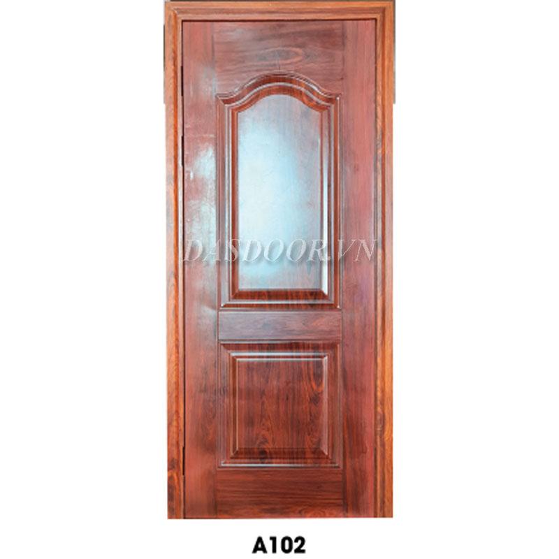 Cửa Thép Vân Gỗ Cánh Đơn - A102