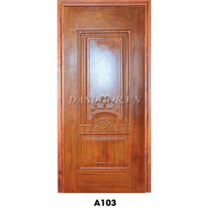 Cửa Thép Vân Gỗ Cánh Đơn - A103