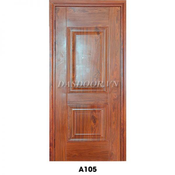 Cửa Thép Vân Gỗ Cánh Đơn - A105
