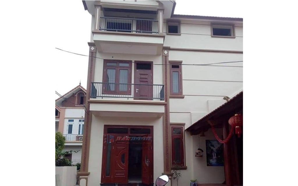 Báo Giá Cửa Thép Vân Gỗ Tại Hà Nội