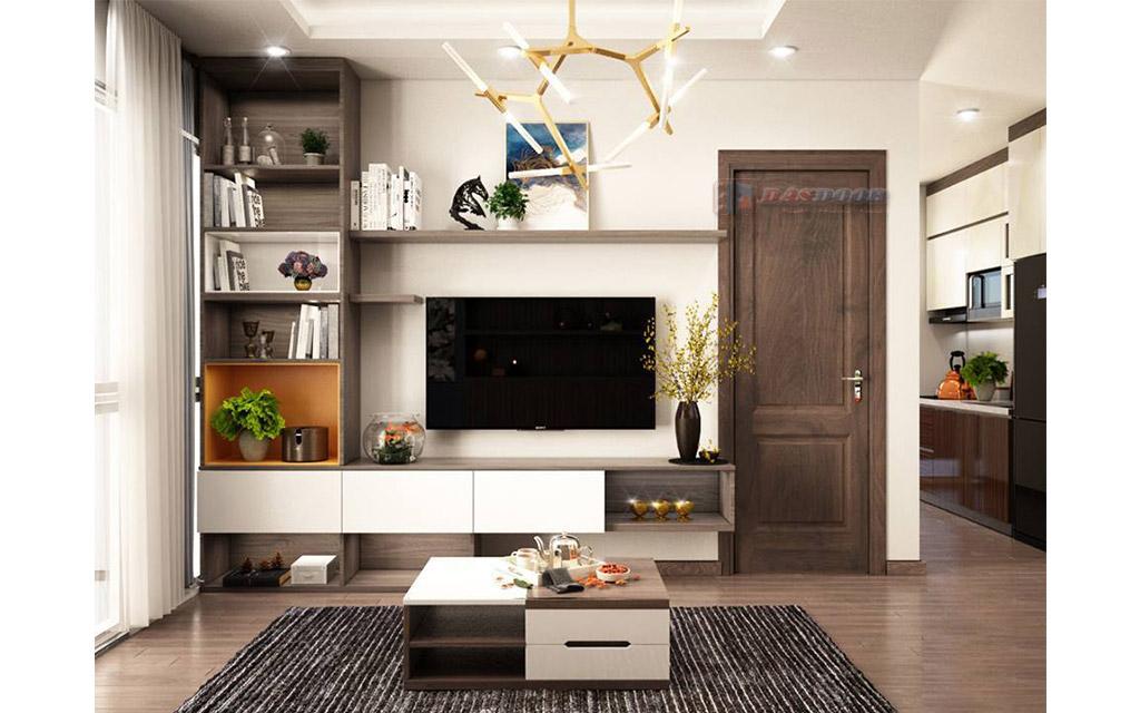 Cửa Gỗ Composite - Sự Lựa Chọn Cho Cửa Thông Phòng Hiện Đại